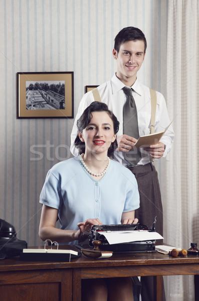 Business couple  Stock photo © stokkete