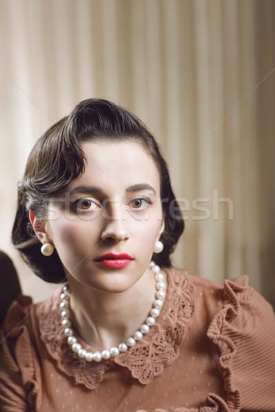 Woman portrait Stock photo © stokkete