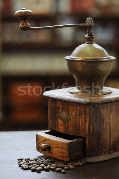 old grinder coffee Stock photo © stokkete