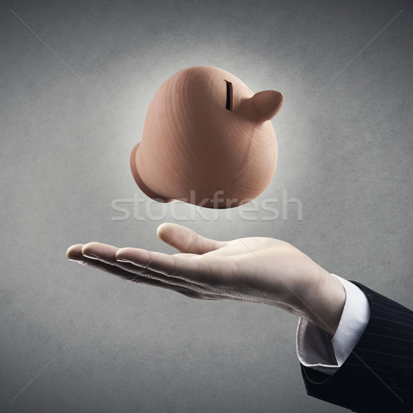 Savings plan made simple Stock photo © stokkete