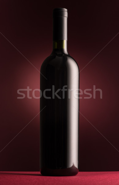Excellent red wine bottle Stock photo © stokkete