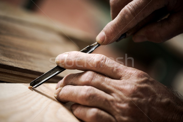 hands of a craftsman Stock photo © stokkete