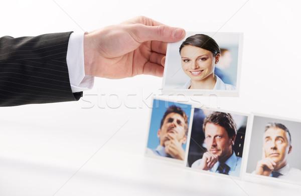 Humaine ressources portraits groupe gens d'affaires homme d'affaires Photo stock © stokkete