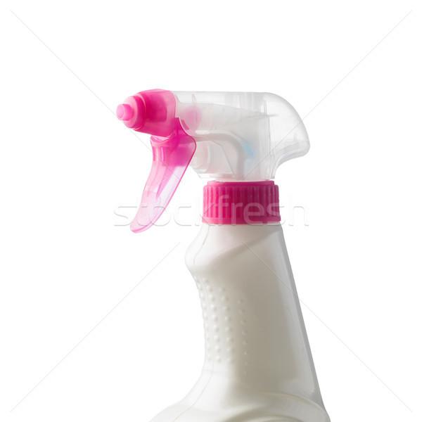 Spray detergente branco higiene produtos de limpeza Foto stock © stokkete