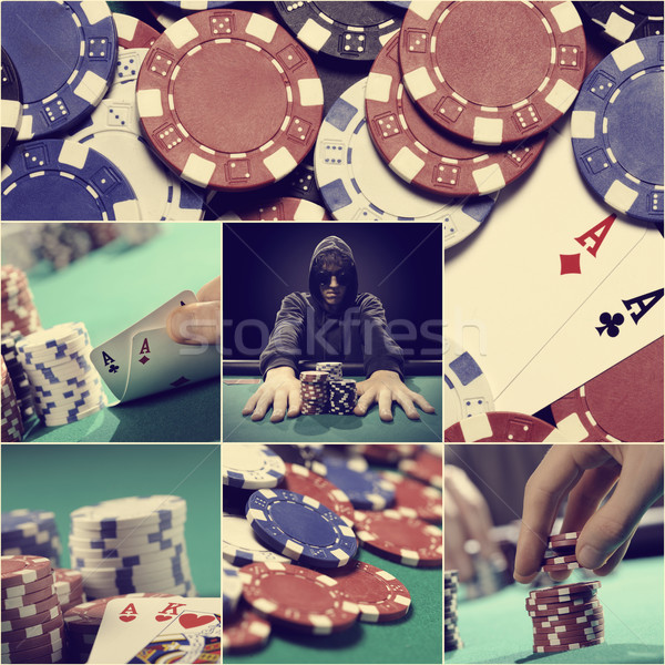 Texas Hold'em poker Stock photo © stokkete