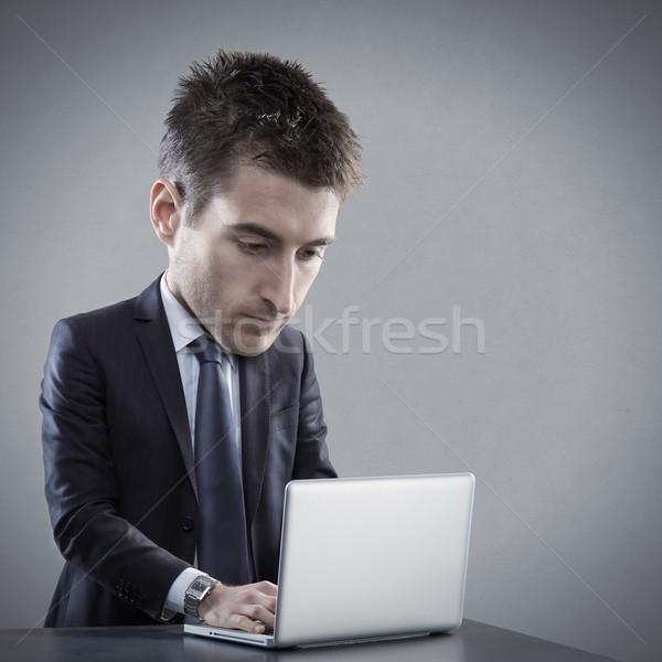 Talented skilled businessman Stock photo © stokkete