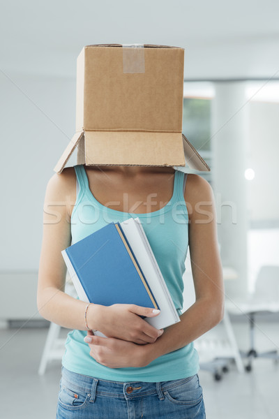 Think outside the box Stock photo © stokkete