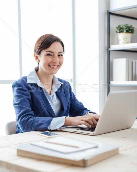 Woman entrepreneur Stock photo © stokkete