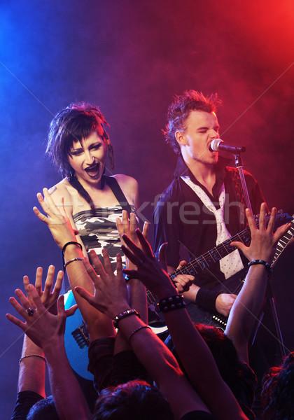 Rock concert Stock photo © stokkete