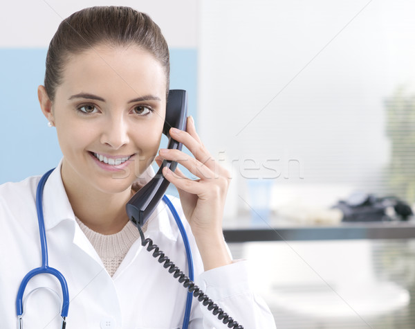 Medical assistance Stock photo © stokkete