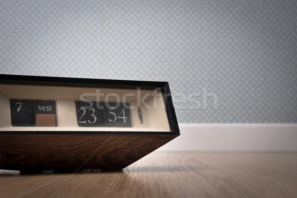 Vintage clock Stock photo © stokkete