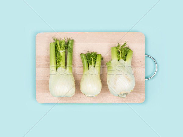 Fresh fennel on a chopping board Stock photo © stokkete