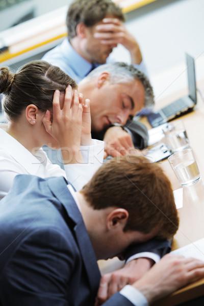 Boring seminar Stock photo © stokkete