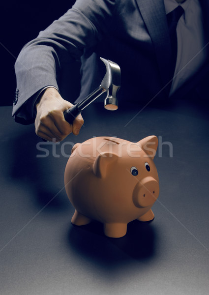 Getting at your savings Stock photo © stokkete