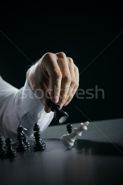 King Checkmate Stock photo © stokkete