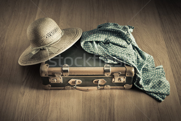 Summer holiday packing Stock photo © stokkete