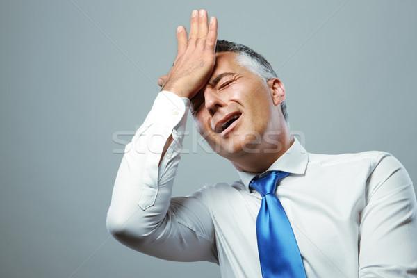 Affaires déception portrait frustré maturité homme d'affaires Photo stock © stokkete