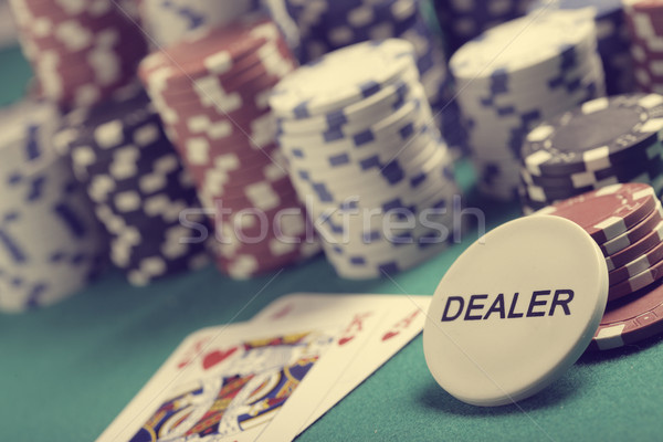 Texas hold'em Stock photo © stokkete