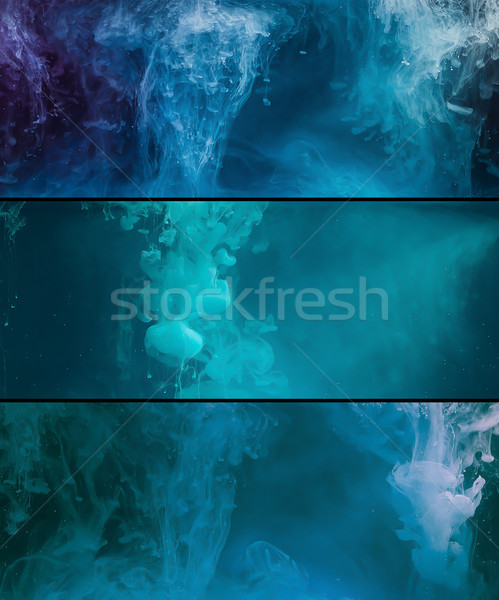 Paint spill abstract background Stock photo © stokkete