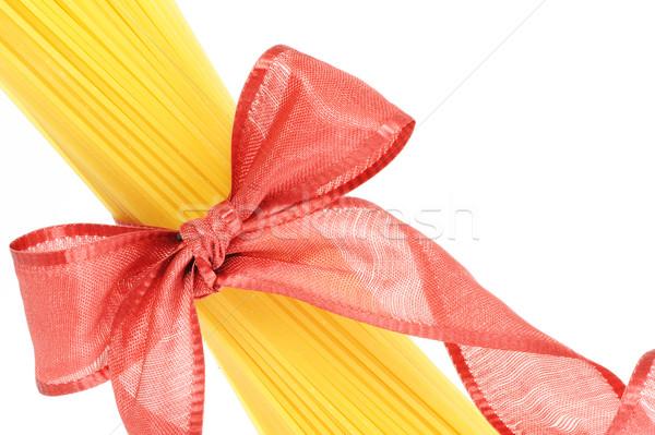 Spagetti olasz tészta hasonló kép enyém Stock fotó © stokkete