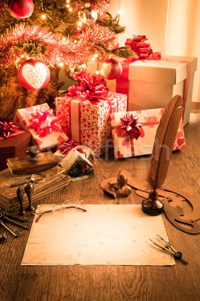 Letter to Santa Claus Stock photo © stokkete