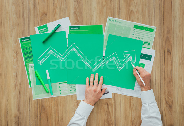 Financial success Stock photo © stokkete