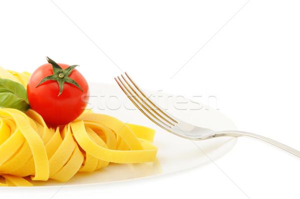 итальянский пасты продовольствие фото портфеля Сток-фото © stokkete