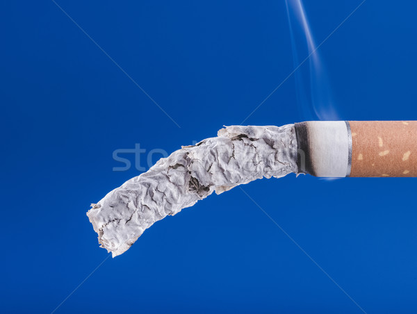 Cigarette burning close up Stock photo © stokkete