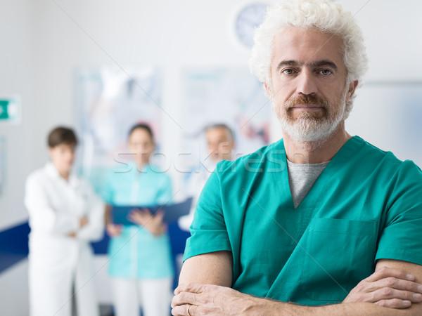 Professional medical staff Stock photo © stokkete