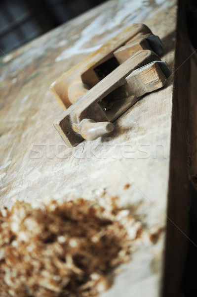 tools for woodworking Stock photo © stokkete