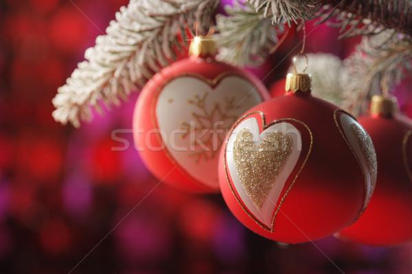 Christmas background Stock photo © stokkete