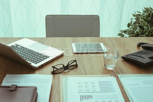 бизнеса workspace корпоративного служба профессиональных Desktop Сток-фото © stokkete
