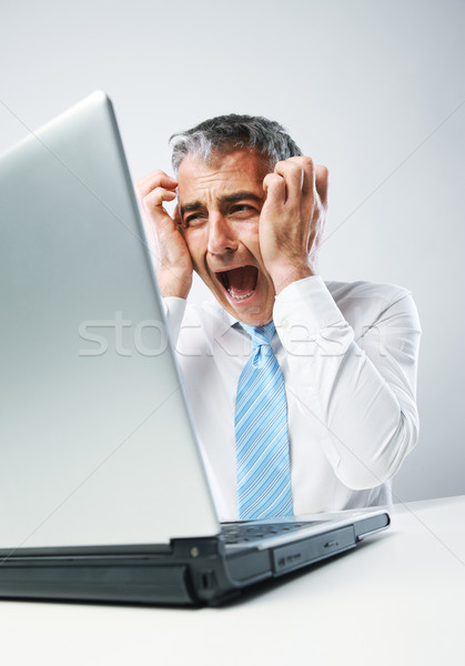 Stressed Out Businessman Stock photo © stokkete