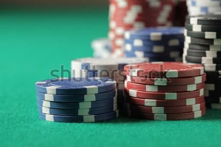 Texas hold'em poker Stock photo © stokkete