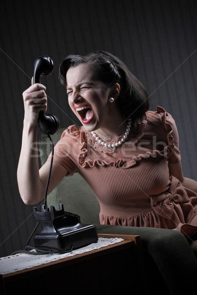 Angry woman  Stock photo © stokkete
