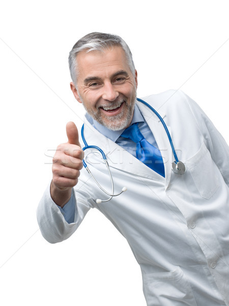 Stock photo: Confident doctor posing