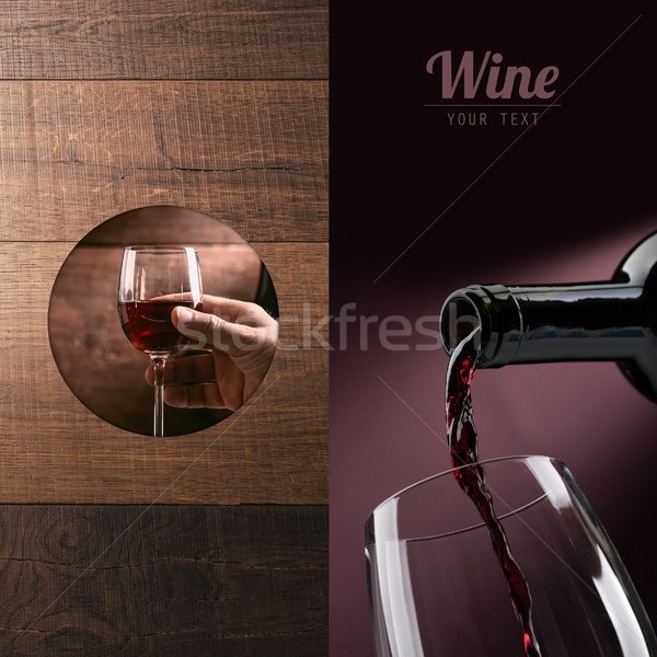Excellent wine tasting Stock photo © stokkete