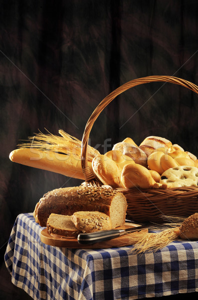 bread basket Stock photo © stokkete