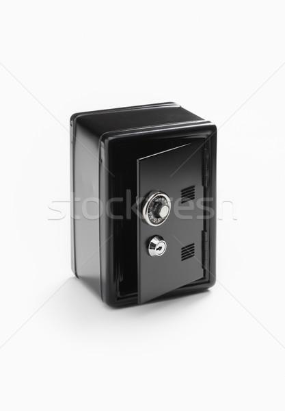 Sûr dépôt boîte nombre serrure à combinaison Photo stock © stokkete