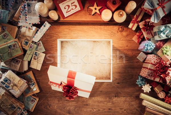 Christmas gift Stock photo © stokkete