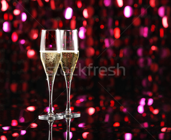 Celebration With Champagne Stock photo © stokkete