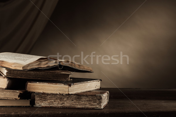 Ancient books Stock photo © stokkete