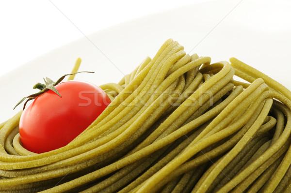 итальянский пасты блюдо другой продовольствие фото Сток-фото © stokkete