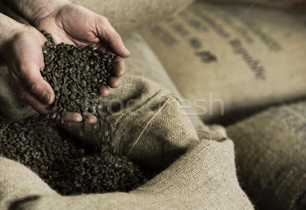 Coffee Beans Stock photo © stokkete