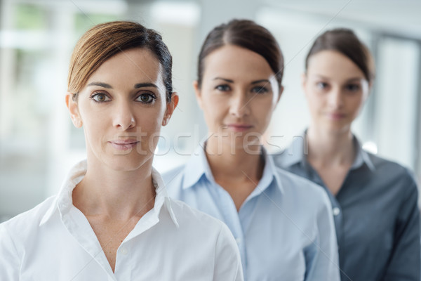 Stock photo: Successful women entrepreneurs posing