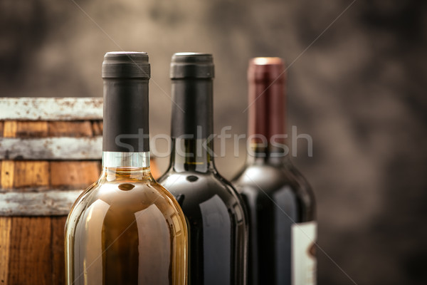 Expensive wine collection Stock photo © stokkete