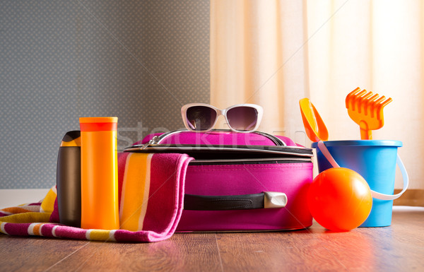Ready for vacations Stock photo © stokkete