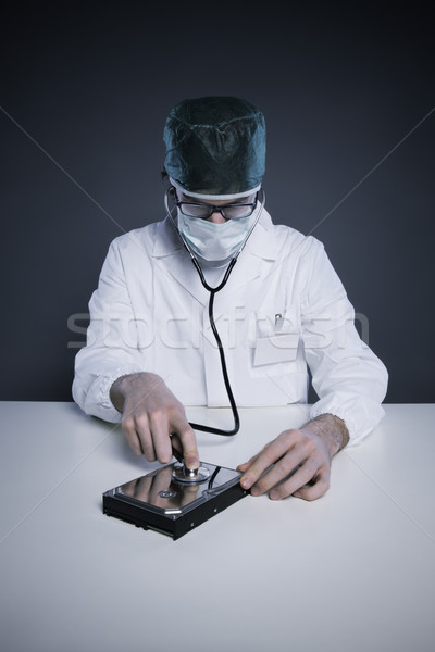 Hard Disk Healthcare Stock photo © stokkete