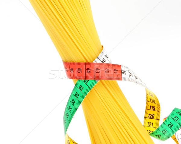 Foto d'archivio: Dieta · spaghetti · abstract · design · fitness