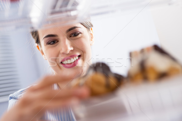 Stock photo: Craving sweet food